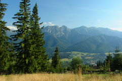 Giewont Royalty Free Stock Photos
