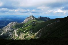 Giewont - Tatras Mountains Royalty Free Stock Photos
