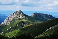 Giewont - Tatras Mountains Royalty Free Stock Photography