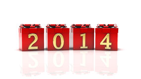 Gif box 2014 Stock Images