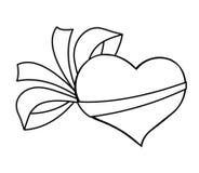 GIF del corazón ilustración del vector