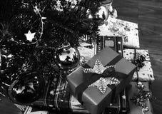 GIF happynewyear del fondo de Navidad del nopeople del primer de la decoración de la Navidad Fotos de archivo libres de regalías