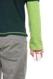 gif ręka trzyma mały Obraz Royalty Free