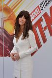 Giffoni Valle Piana, Sa, Italy - July 20, 2018 : Evangeline Lilly at Giffoni Film Festival 2018. On July 20, 2018 in Giffoni Valle Piana, Italy royalty free stock photo