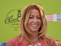 Lucia Fortini at Giffoni Film Festival 2017 Stock Photos