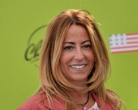 Lucia Fortini at Giffoni Film Festival 2017 Royalty Free Stock Image