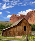 Gifford Barn Capitol Reef National Park Royalty Free Stock Photography