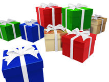 Gift. This graphic is Gift Package Royalty Free Stock Photography