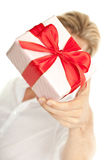 A gift Royalty Free Stock Photography