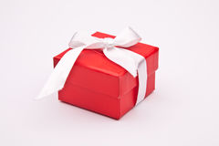Gift. A box with the gift Royalty Free Stock Photos