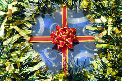 Gift. New Year background Stock Image