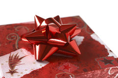 A gift. Box - detail Royalty Free Stock Images