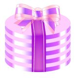 Gift. Vector, illustration, gift, present, festival, ribbon Royalty Free Stock Images