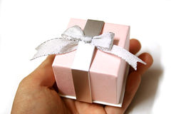 Gift. A gift stock photography