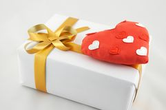 Gift on stock photography