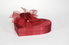 Gift. Every nice gift contains some sweet things in it. Chocolate Royalty Free Stock Photos
