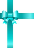 Gift. Illustration of a gift with ribbons and a bow Royalty Free Stock Photos