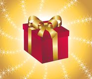 Gift. Vector illustration of a gift Royalty Free Stock Images