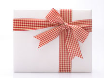 Gift. Against white background Royalty Free Stock Images