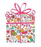 Gift for babygirl. Stock Image