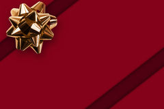 Gift Background. With a bow royalty free stock image