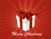 Gift  background. Royalty Free Stock Image