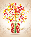 Gift background. Stock Images