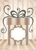 Gift background. Stock Photography