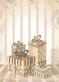 Gift background. Stock Image