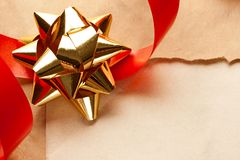 Gift background Stock Photos