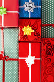 Gift background Royalty Free Stock Photos