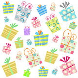 Gift background vector Stock Images