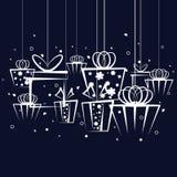 Gift background Royalty Free Stock Photo
