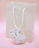 Gift bag stock image