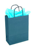 Gift Bag. On white Royalty Free Stock Image