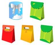 Gift Bag And Box Royalty Free Stock Photography