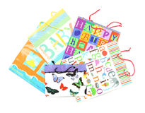 Gift bag assortment Stock Image