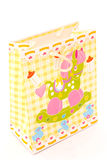 Gift Bag for Baby Present Stock Image
