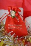 Gift bag, Christmas  Scene, Decoration Stock Images