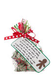 Gift bag of money Royalty Free Stock Images