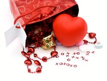 Gift bag,presents 2 royalty free stock image