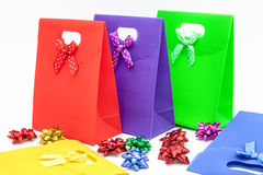 Gift bags Royalty Free Stock Photos
