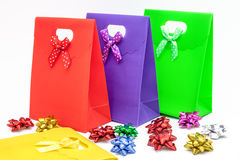 Gift bags Stock Photos