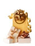 Gift bags Stock Photos