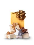 Gift bags Royalty Free Stock Photography