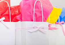 Gift bags for any occasion Stock Image