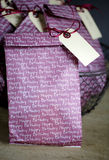 Gift Bags at birthday party Royalty Free Stock Photography