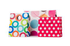Gift bags Royalty Free Stock Photo