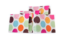 Gift bags isolated on  white background Stock Image