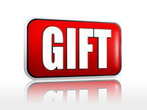 Gift banner Stock Photography
